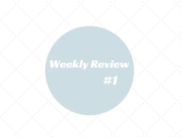 Weekly Review #1